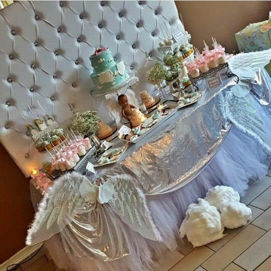 Angel Babyshower Heaven Sent Babyshower Pinterest