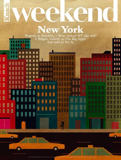 New York, New York - retro