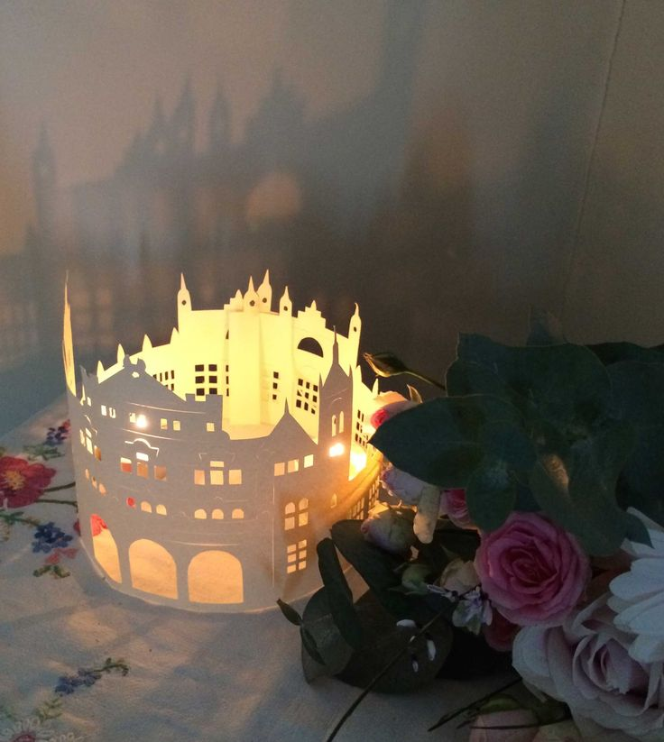 Original papercut wedding centrepiece by artist Boo Paterson.  Click link to buy: https://www.etsy.com/uk/listing/228914628/beautiful-original-papercut-wedding?ref=shop_home_active_1