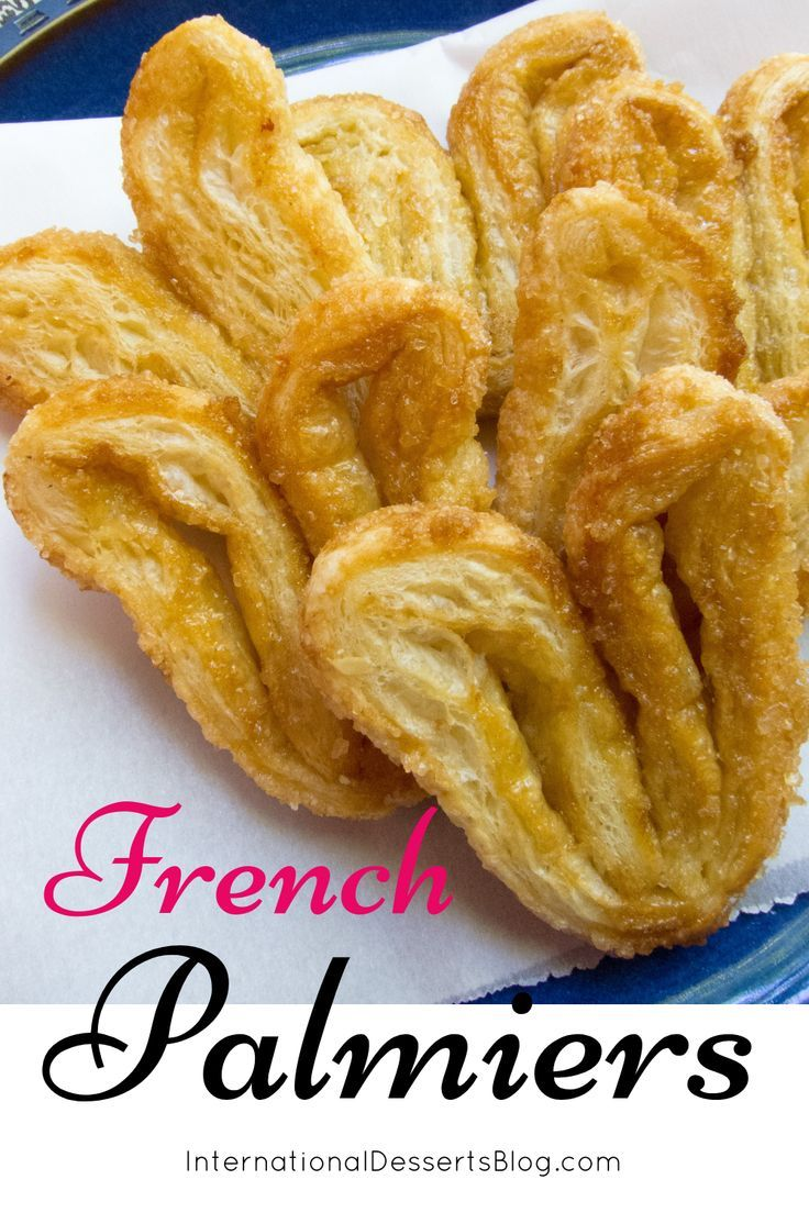 French Palmiers Recipe Food recipes, Dessert blog