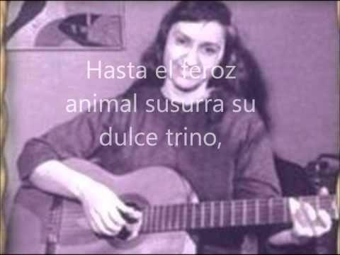 Violeta Parra - Volver a los Diecisiete Con Letra