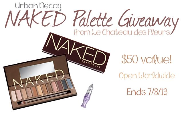 Enter to win the Urban Decay Naked Palette