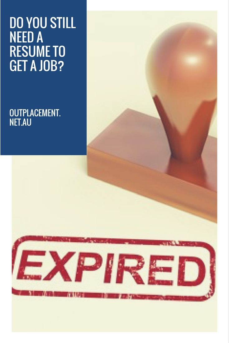 Do you still need a resume to get a job? More career advice from Glide Outplacement and Career Coaching.