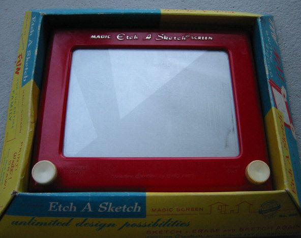 Etch A Sketch. Never Was Very Good At It. | Memories Of My Childhood -) | Pinterest | Etch A ...