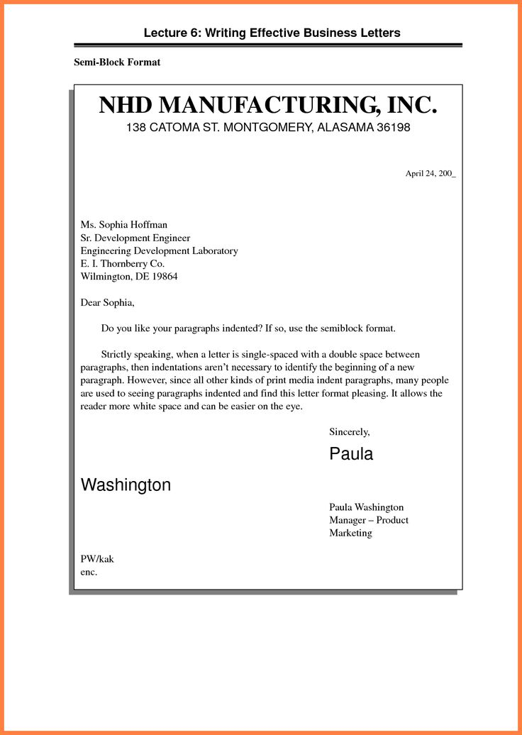 The 25+ best Formal business letter format ideas on Pinterest - format for letter of reference