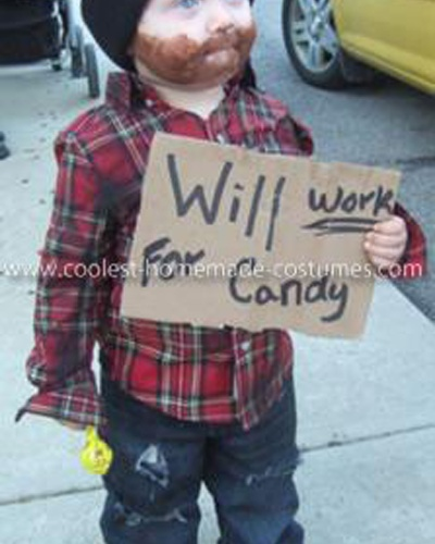 haha! cute halloween costume