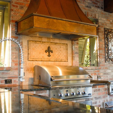 Outdoor Kitchen New Orleans Style New Orleans Pinterest