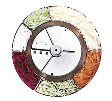 """Robot Coupe 2 x 4 mm (5/64"""" x 5/32"""") Julienne disc for R2 machine by Robot Coupe. $85.80. Food Quantity Time Beets 40# 5 min. Carrots 40# 5 min. Potatoes 60# 5 min. Zucchini 50# 5 min. Actual size of cut:"""