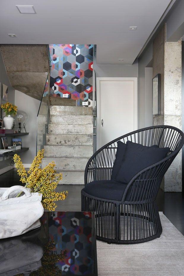Casa Vogue projeto Tucah Campos. Aconchego e descontração são as marcas deste projeto.