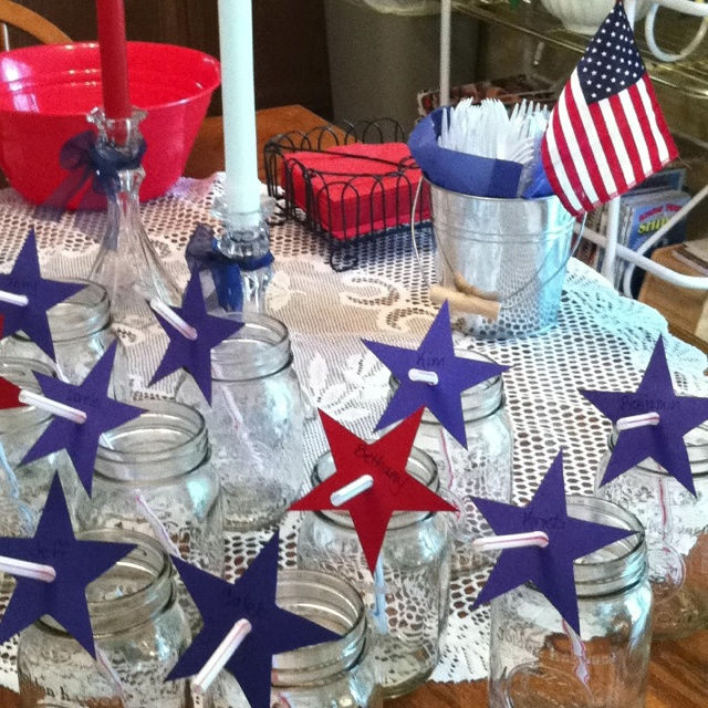 Memorial Day/4th of July decor
