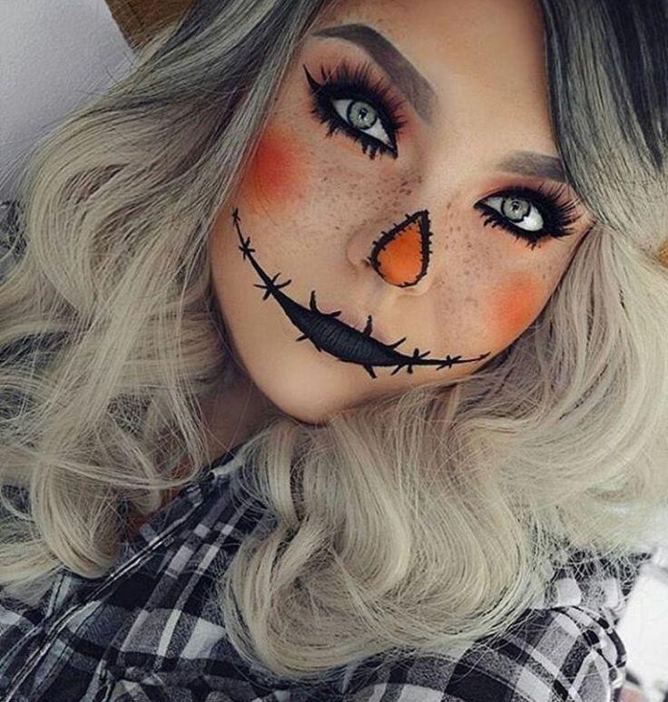 Maquillaje Catrina Mitad Cara