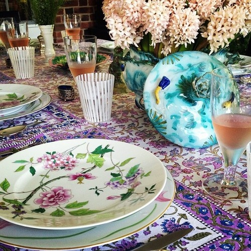 17 Best Images About Tablescapes Purple Indian Wedding