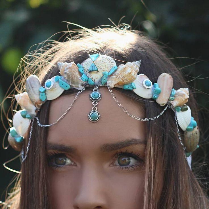 So many gypsy mermaid crowns in the works  #gypsy #mermaid #gypsystyle…