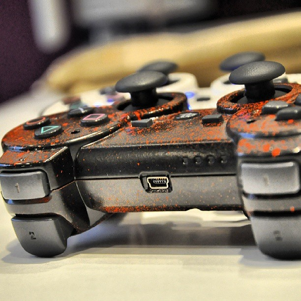 mode custom manette ps3 gaming instagaming instagamer instagood gamestagram video - Manette Ps3 Color