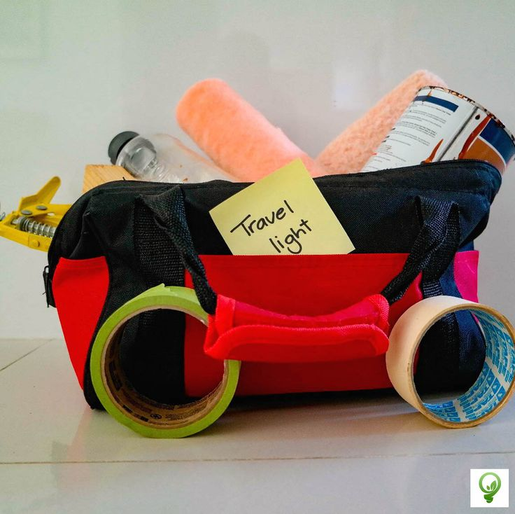 Eco Tip #30: Travel light. Unload excess supplies and tools from your vehicle. Saving fuel and keeping organised.