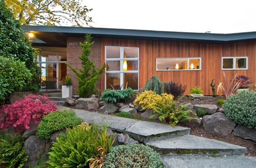 52 Best Mid Century Modern Exterior Materials Images On