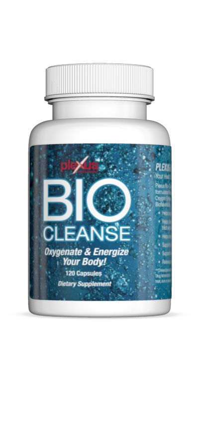 Oxygenates the entire body Helps cleanse the gastro-intestinal tract and arteries Helps energize the body Enhances weight loss Supports collagen production Relieves occasional constipation (that is not associated with chronic constipation, which may be a symptom of a serious disease - See more at: http://bhixson.myplexusproducts.com/products/bio-cleanse#sthash.ZL6jKoxj.dpuf