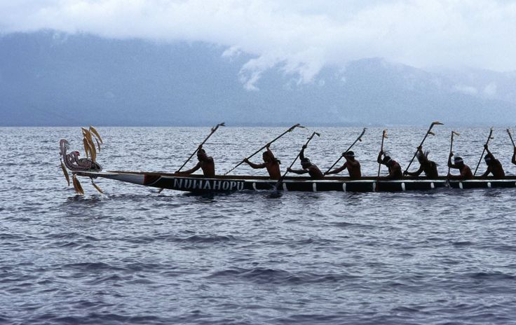 War canoe racing at Milne Bay Kenu and Kundu Festival. http://www.blog.pagahill.com/#!Hello-Alotau/c2o6/563c50580cf23796cd8f8796