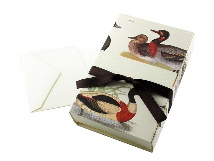 Wrapping Paper & Co. – Duck Theme Jewelry Gift Box Paper Box – a unique product by DressYourGift on DaWanda