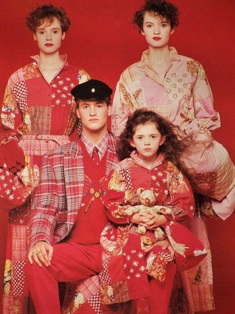 カールヘルム1990年冬のラケット柄の編み込みニット ◆憧れのスポーツ◆ | macknのファッショントーク
