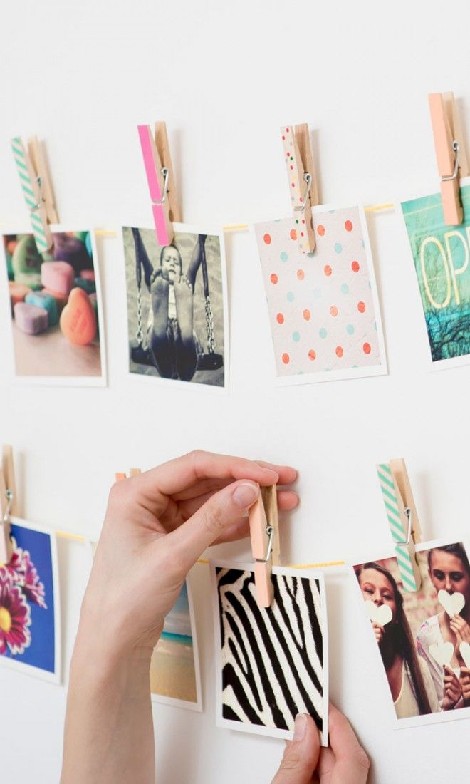 Cute magnets made from your Instagram pics