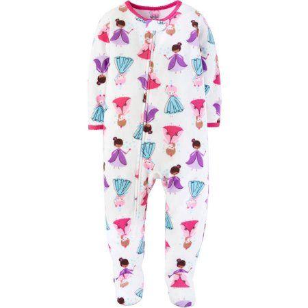 Child of Mine by Carter's Newborn Baby Girl 1 Piece Blanket Sleeper, White