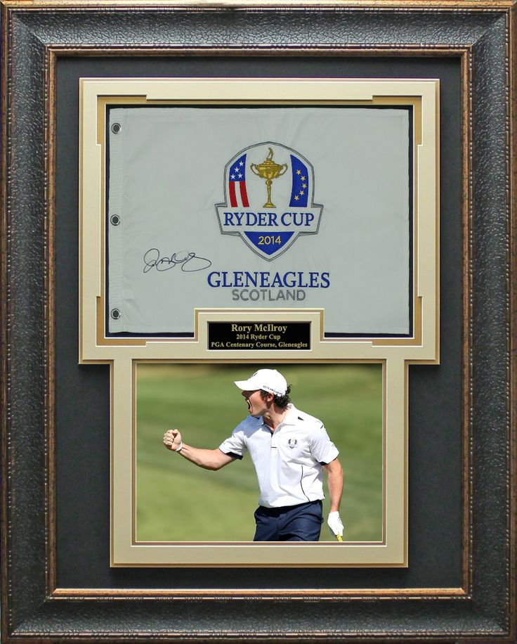 Signature Royale - Rory McIlroy Signed 2014 Ryder Cup Flag Display #RyderCup2014, #RorymcIlroy., $1,042.95 (http://www.signatureroyale.com/rory-mcilroy-signed-2014-ryder-cup-flag-display/)