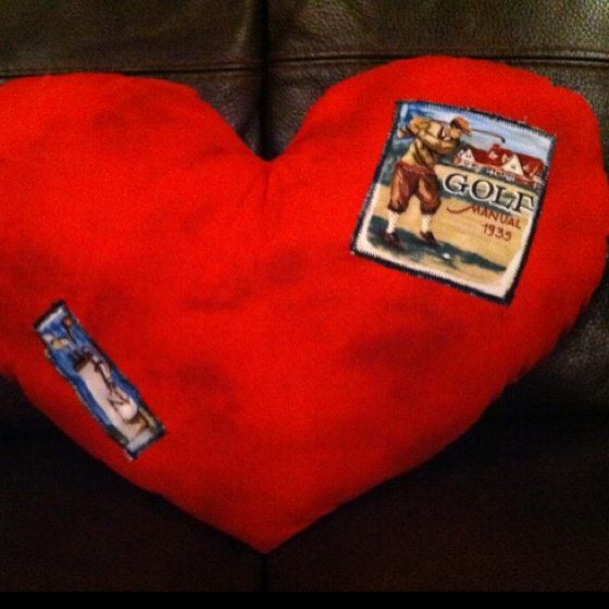 7 Best Images About Heart Pillows On Pinterest