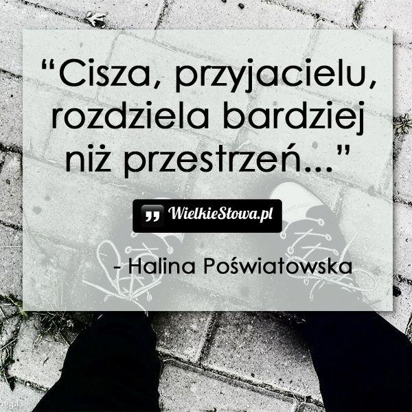 Cisza, przyjacielu... ,  #Przyjaźń