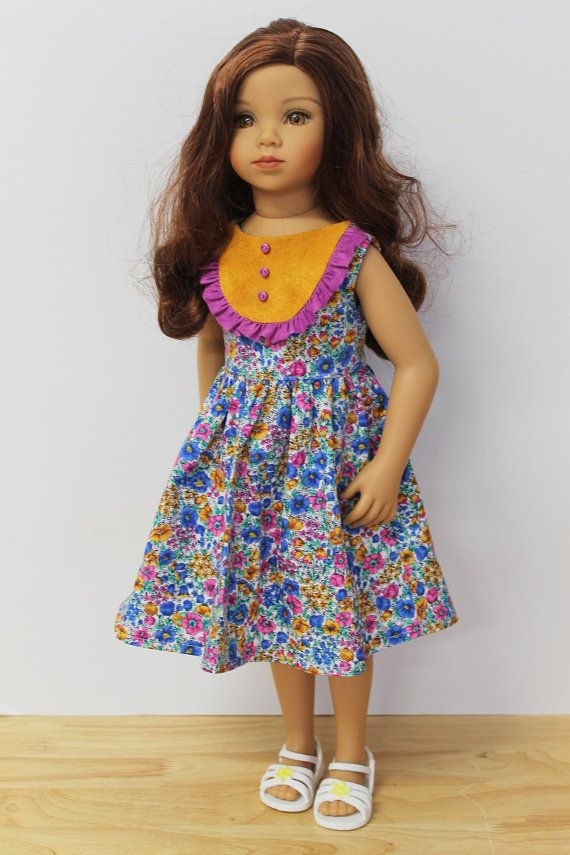 Carnival Dress Doll Clothes to fit Maru and Friends by Debsterkay