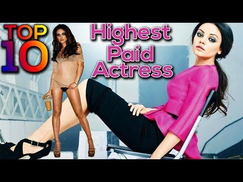 Top 10 highest paid hollywood actress