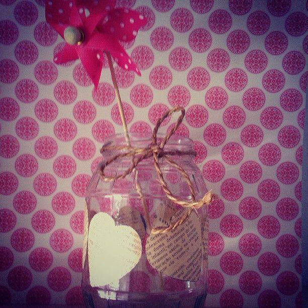 #portalpecaapeca #diy #craft #jar #masonjar #crafting #pinwheel Follow us:  Follow us:  http://www.pecaapeca.com http://www.facebook.com/portalpecaapeca