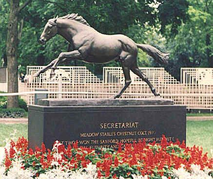 October 4, 1989, Secretariat passed at the age of 19 in Paris KY