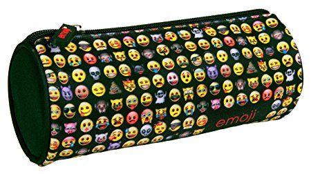 Undercover EMTU7740 - Schlamperetui Emoji, 21 x 8 x 8 cm