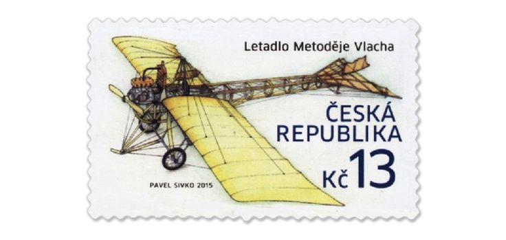 www.COLLECTORZPEDIA.com Metoděj Vlach Airplane