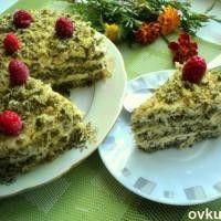 Торт «Лесной мох» - необыкновенный!