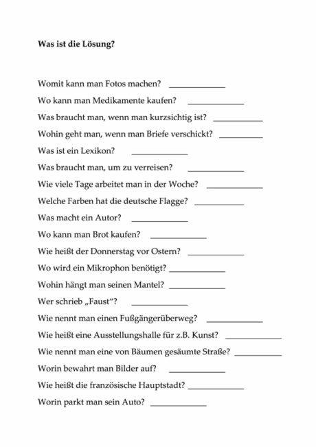 Fragen zur Wortfindung