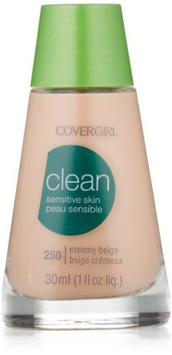 CoverGirl Clean Sensitive Skin Liquid Makeup Creamy Beige  250 10Ounce Bottles Pack of 2 -- You can find out more details at the link of the image.