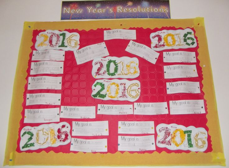 New Years Resolutions written by Early Explorers (5-6y) @AcornsNursery