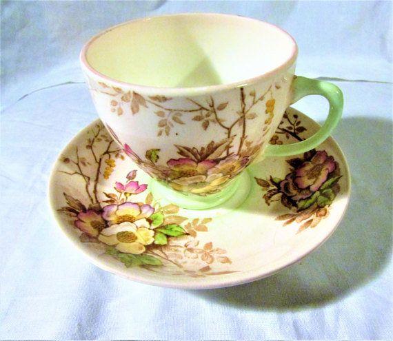 Old Royal Bone China England Vintage Floral Teacup Vintage
