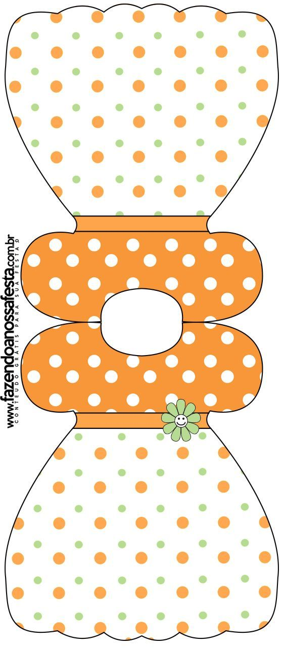 .Cute dress pattern for cards/crafts: