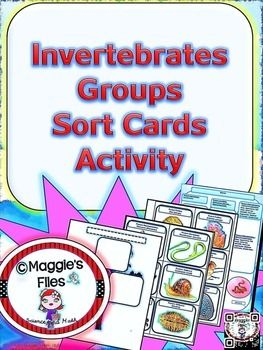 The  Invertebrates Groups Sorting Card Activity  is design to help your students review, reinforce and assess their knowledge about the main…
