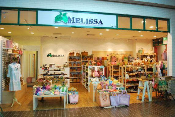 メリッサ Melissa|シンガポールでショッピング|マンゴスティン倶楽部