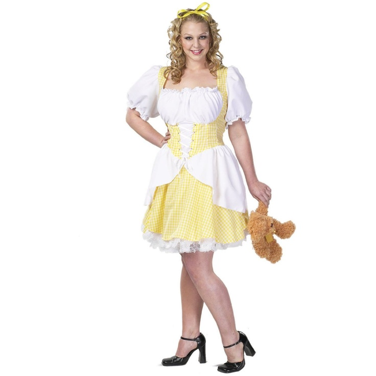 plus size goldilocks costume halloween costumes plussize - Goldilocks Halloween Costumes