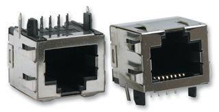 TE CONNECTIVITY / AMP 1-406541-1 CAT5 RJ45 MODULAR JACK, 8POS, 1 PORT (10 pieces)
