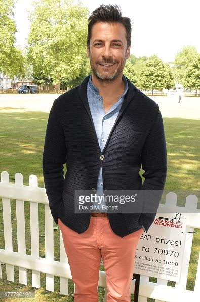Baris Kilic attends the Flannels for Heroes charity cricket match and garden party hosted by menswear brand Dockers at Burtons Court on June 19, 2015 in London, England.