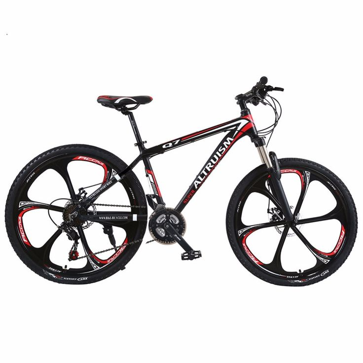 "Altruism Q7 Mountain Bike 21 Speed Aluminum MTB 26"" Bicycle Braking Bikes for Mens Road Racing Black Bicycle"