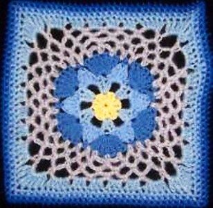 Free Crochet Hexagon Hippo Pattern : 1000+ images about Croch? / Square - Crochet Square on ...