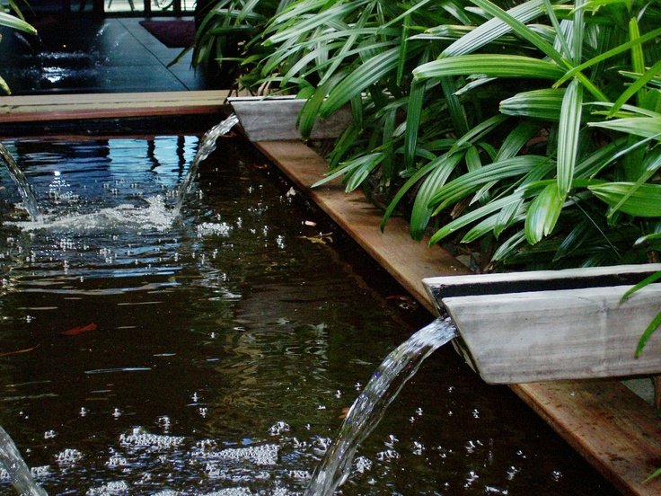 Residential landscape architecture water feature fine for Garden design generator