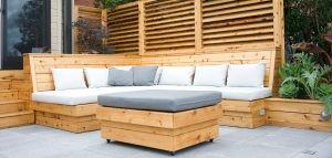 Une terrasse moderne à Montréal - Montreal Outdoor Living